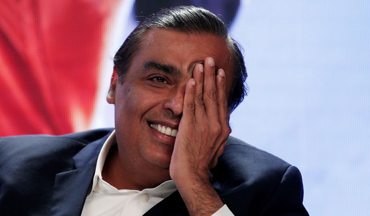 Happy hunting ground: Last year, Mukesh Ambani's Reliance Industries launched JioMart, which has inked partnerships with a million merchants | REUTERS