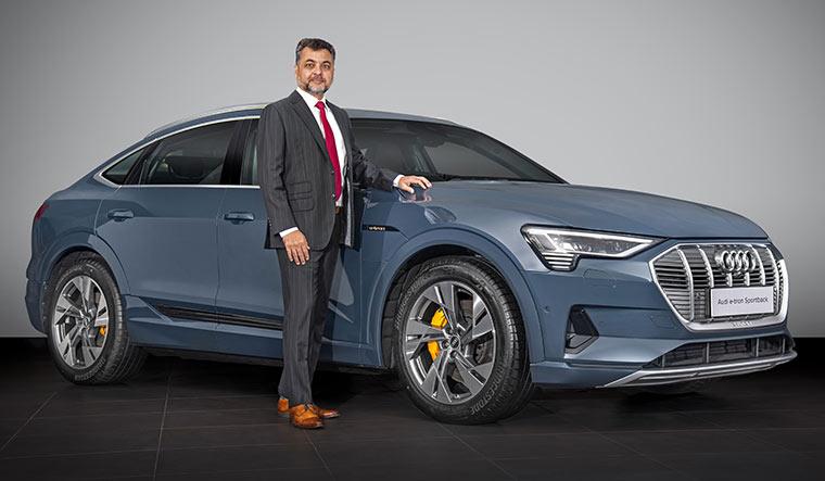 Audi e-tron, Range: 484km - Price: Rs99.99 lakh to Rs1.18 crore