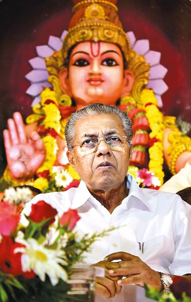 Red alert: Pinarayi Vijayan is now the only communist chief minister in the country | Nikhilraj