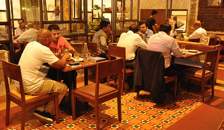 Trendy, bold: The Bombay Canteen.