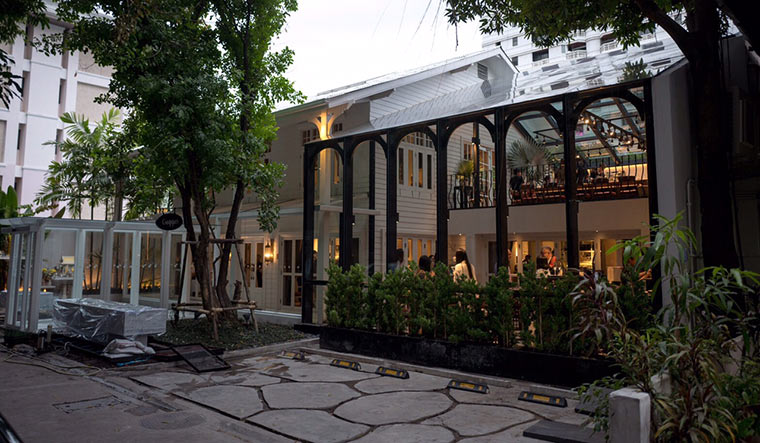 Gaggan, set in a whitewashed colonial house, in downtown Bangkok | Photo Courtesy: FB://allwecandid