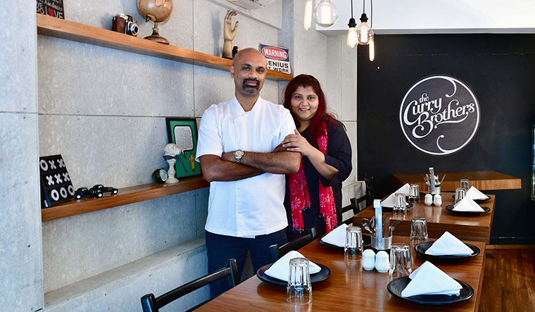 Of bonds and flavours: Joshua D'Souza and Neha Manekia at the Curry Brothers | Janak Bhat