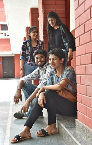 Help is at hand: At Hansraj College, students undergo a department-wise orientation, in addition to overall orientation | Aayush Goel
