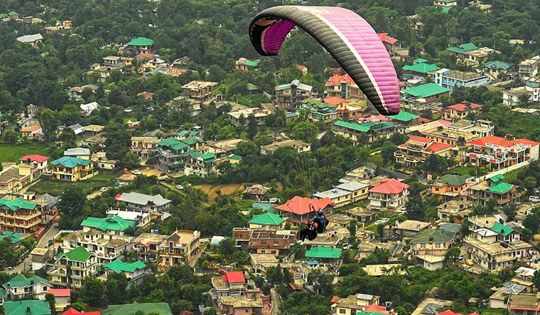 Bird's-eye view: paragliding is one of the popular adventure activities in dharamshala | Salil Bera