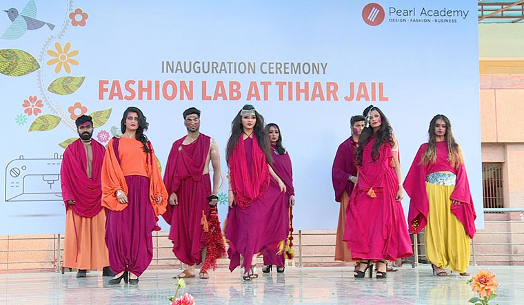 Style quotient: A fashion show by inmates held at Tihar jail.