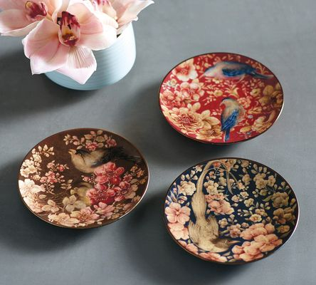 On a Platter: Sabyasachi's Trinket Tray collection for Pottery Barn.