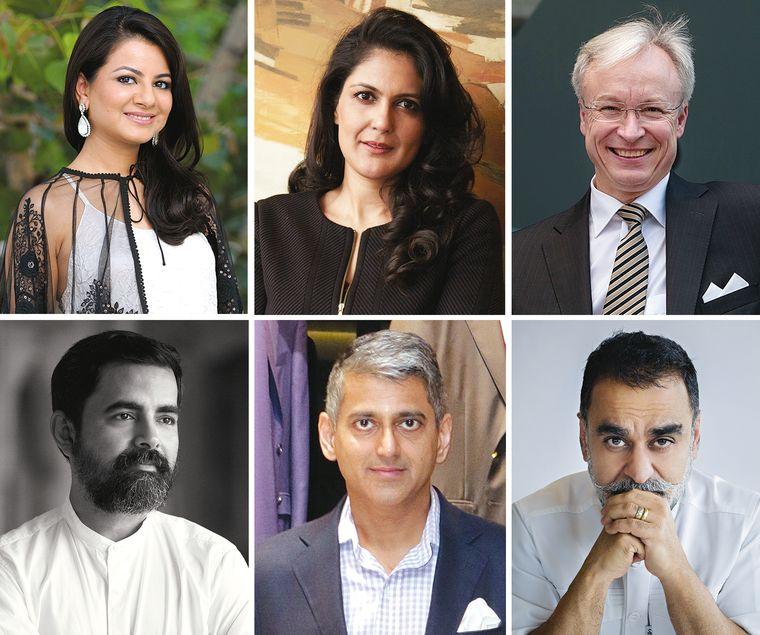 Akanksha Arora, Sonal Singh, Roland Folger, Sabyasachi Mukherjee, Sanjay Kapoor, Vineet Bhatia