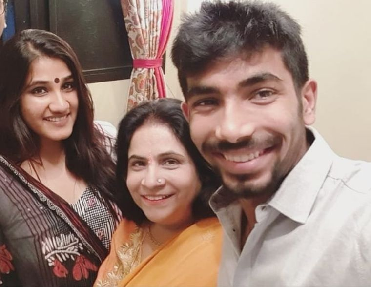 "While a young Jasprit toiled on the field, his mother, Daljit, kept the home running. After the death of her husband, Jasbir, she brought up Jasprit and his sister Juhika on her own. ""We were rich. Then, we saw difficult times,"" says Daljit. ""Jasprit has seen both, and knows that nothing is permanent."" 