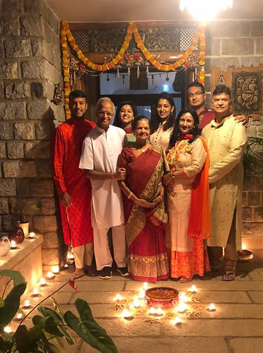 The Agarwal family | Picture Courtesy: Mayank Agrawal, Instagram Page