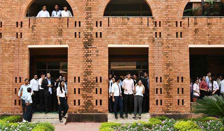 Aiming high: Students at Management Development Institute, Gurugram | Sanjay Ahlawat