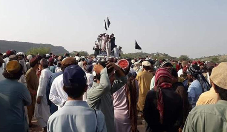 Simmering discontent: A Pashtun Tahafuz Movement protest.