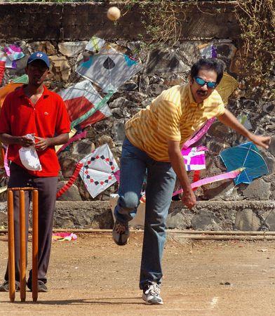Top-flight tactician: Uddhav during a cricket match in Mumbai, held to celebrate the birthday of Sena patriarch Balasaheb Thackeray in 2005.