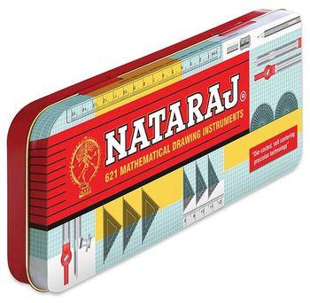 A Nataraj steel geometry box.