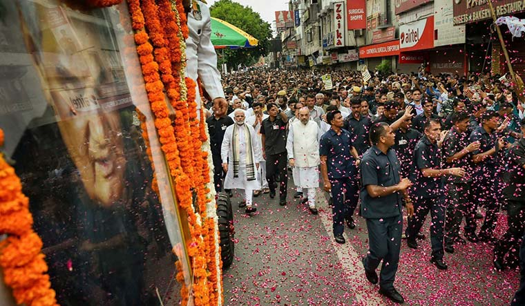 Poll call: Narendra Modi and Amit Shah | PTI