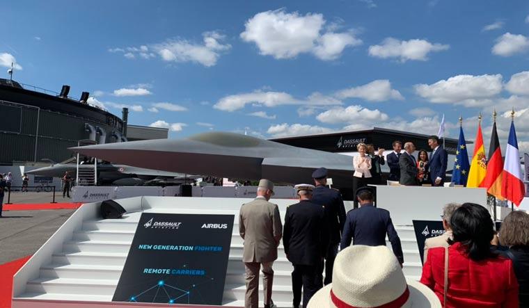 NGF unveiling Dassault Twitter