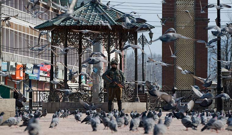 India Kashmir Strike