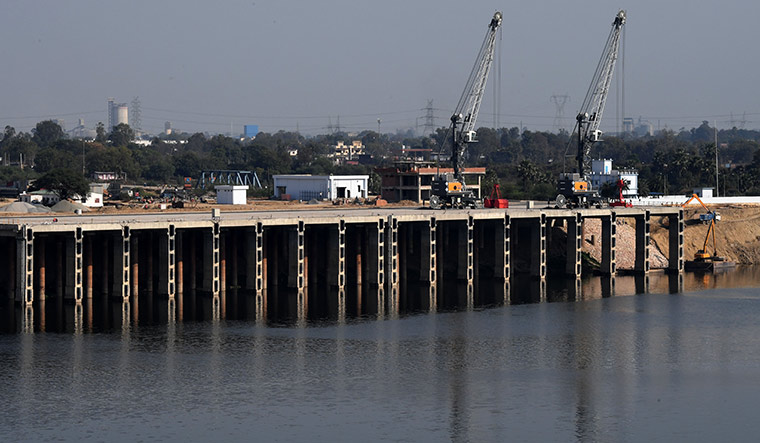 River Highway: At full capacity, the Ramnagar terminal will handle 1.6 million tonnes a year.