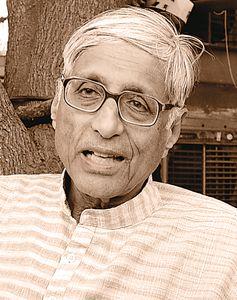 Rajmohan Gandhi- Historian, biographer and grandson of the Mahatma.