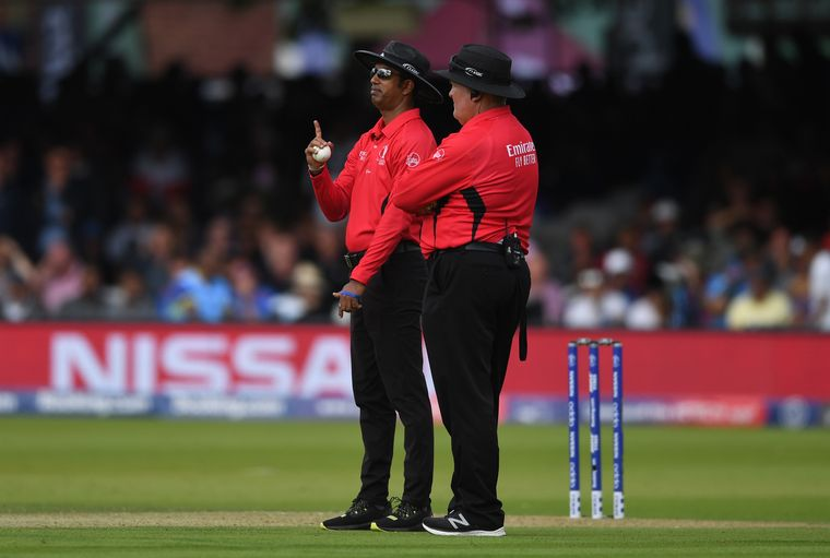 Stumped by umps: Umpires Kumar Dharmasena and Marais Erasmus drew flak for the overthrow decision that led to an extra run for England | Getty Images
