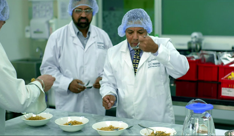 An episode of Netflix's Cooked, shot inside Nestle's research centre in Manesar.
