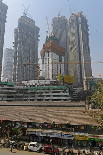 Empty growth: Skyscrapers under construction in south Mumbai | Amey Mansabdar