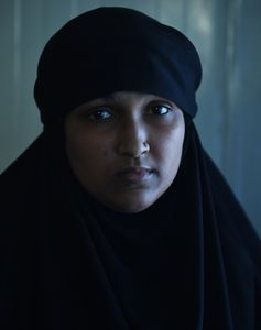 Yearning for home: Amani Fathima, an IS widow from India.