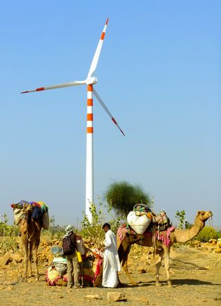 Mind the wind: Wind is the largest source of clean energy in India, but the growth in wind energy generation is stagnating | Shutterstock