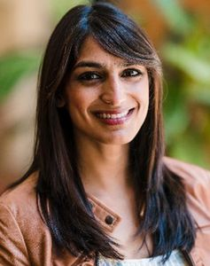 Sabrina Singh, press secretary for Kamala Harris
