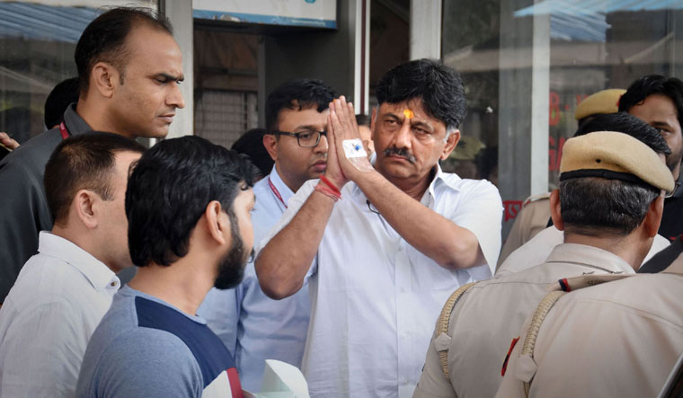 Congress leader D.K. Shivakumar had to go to jail after the ED arrested him in an alleged tax evasion and hawala transaction case   PTI