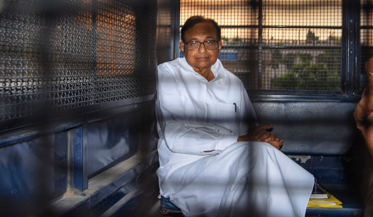 In June 2019, the ED charge-sheeted former Union minister P. Chidambaram and his son, Karti, in the INX Media money-laundering case   PTI