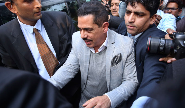 Robert Vadra was grilled in 2019 on cases involving purchase of assets abroad and land allotment in Rajasthan's Bikaner district   AP