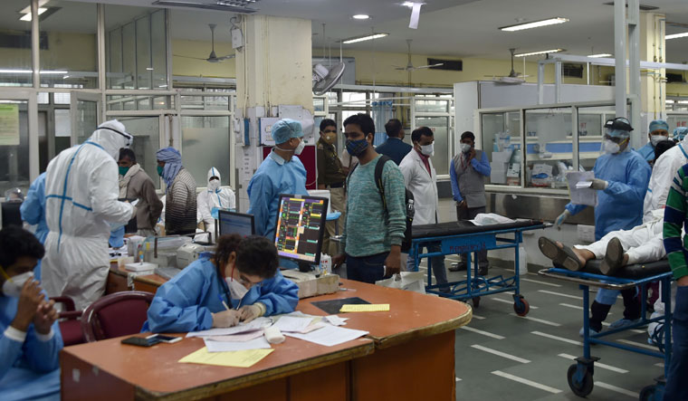 Business as usual: AIIMS has been bustling with patients, both Covid and non-Covid | Aayush Goel
