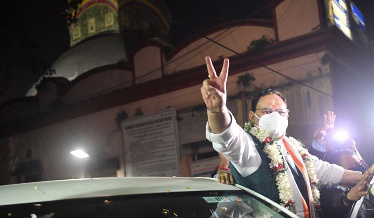 BJP president J.P. Nadda's Bengal visit | Salil Bera