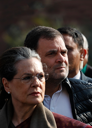 Homegrown trouble: Sonia and Rahul | AP