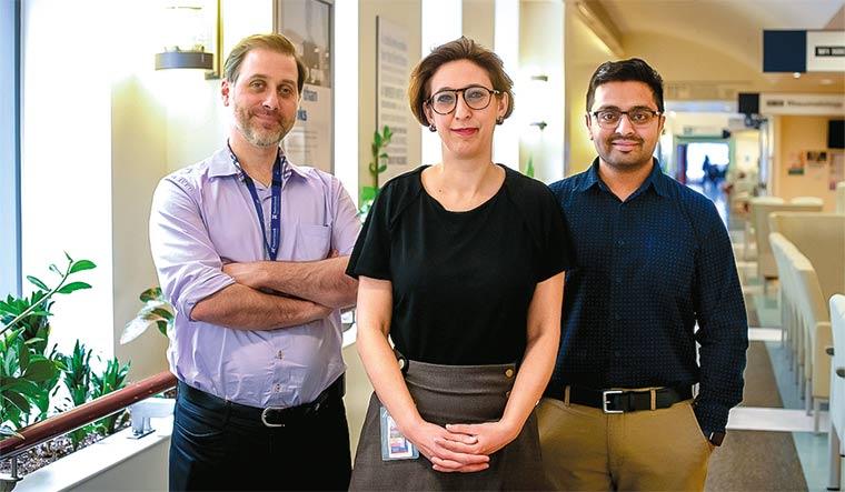 62-Dr-Banerjee-with-Dr-Samira-Mubareka-and-Dr-Robert-Kozak