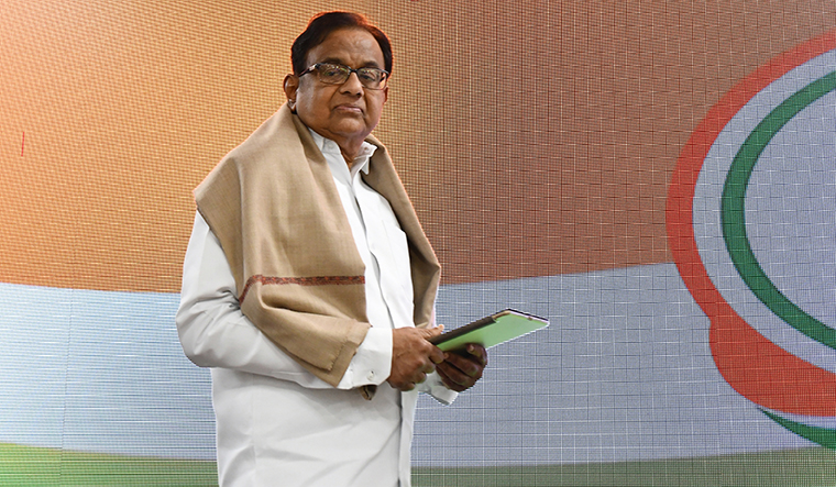 PM gave a headline and a blank page, says P Chidambaram!