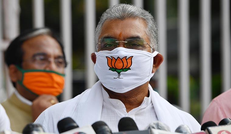 Upping the Ante: West Bengal BJP president Dilip Ghosh | Salil Bera