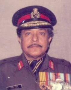 Major General K.K. Ganguly