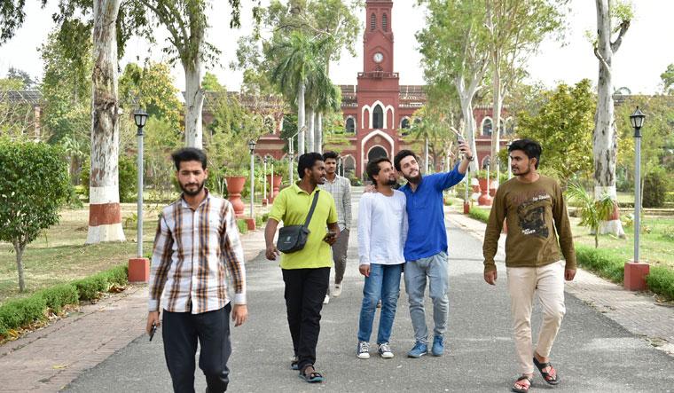 Comfort zone: Students at Aligarh Muslim University (file photo) | Aayush goel