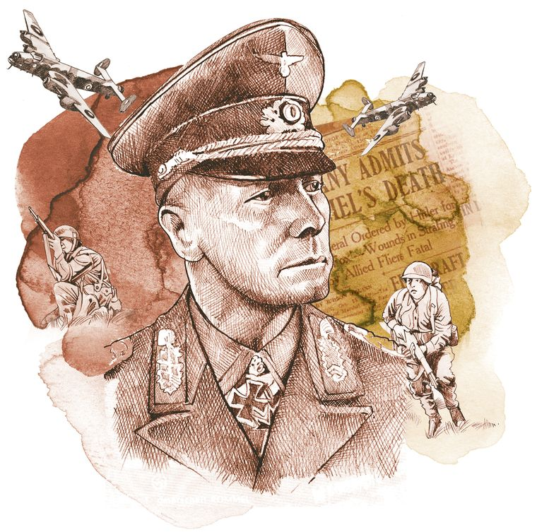 Erwin Rommel, Hitler's celebrated general, was a master tactician respected even by his British enemies.