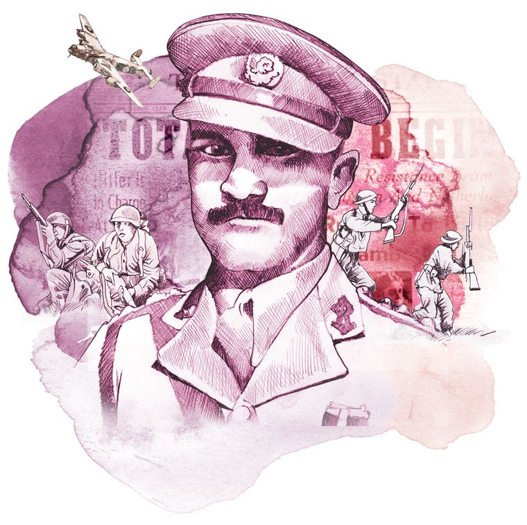 Second Lt P.S. Bhagat, personally cleared 15 minefields in 96 hours in Ethiopia in January 1941. He later rose to become lieutenant general in independent India's army.