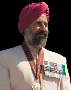 Squadron Leader (retd) Rana Chhina