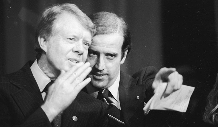 Biden and former president Jimmy Carter | Getty Images