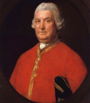Military mind: A painting of Stringer Lawrence by Thomas Gainsborough | ALAMY