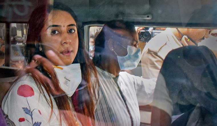 Under influence: Actor Sanjjanaa Galrani was detained in connection to a drug case probe by Central Crime Branch of Bengaluru Police | PTI