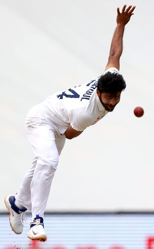 Man for all seasons: Shardul Thakur's eight-year domestic grind has stood him in good stead | AFP