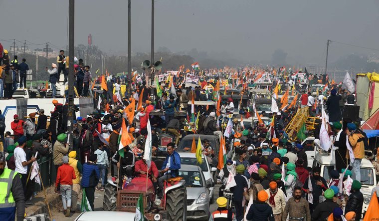 Anger moves in: With the tractor rally turning violent, the farmer protest has been badly hit   Sanjay Ahlawat
