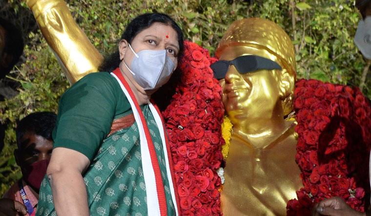 INDIA-POLITICS-SASIKALA