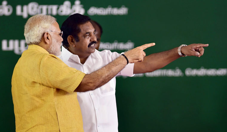 Bridging the gap: Palaniswami says Modi respects the AIADMK and wants the party to grow | PTI