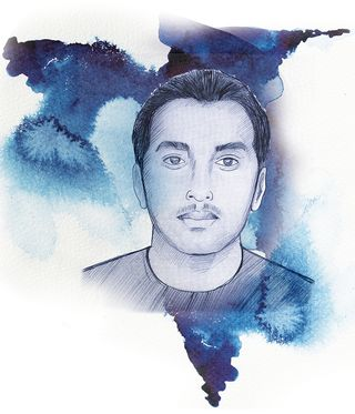 Junaid Miandad, Dawood's son-in-law.  Son of former cricketer Javed Miandad, Junaid is known to have a sharp business acumen. Many expect him to succeed Dawood   Illustration: Deni lal